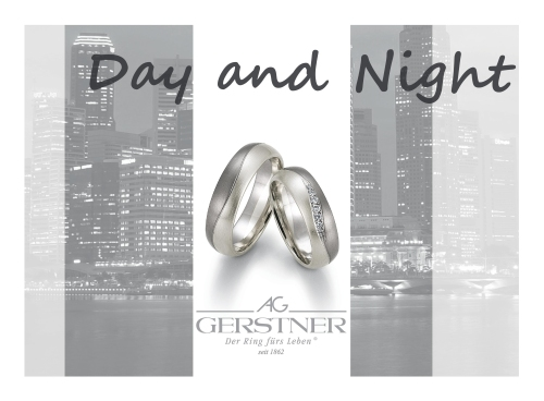 Gerstner Trauringe Day and Night
